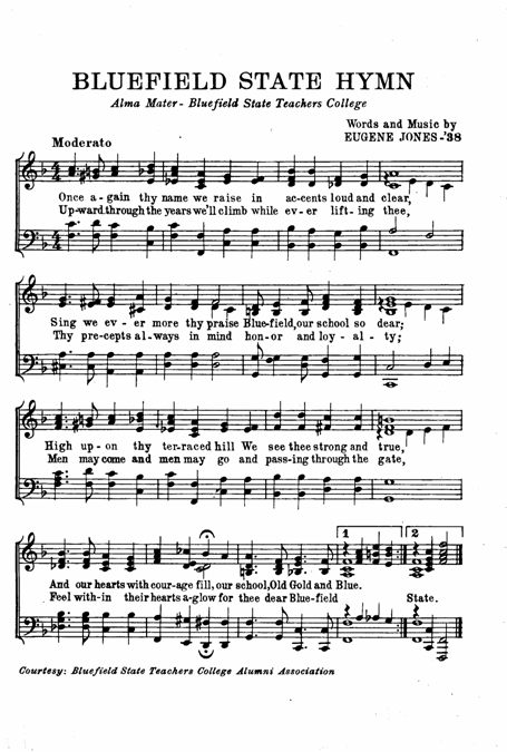 Bluefield State Hymn