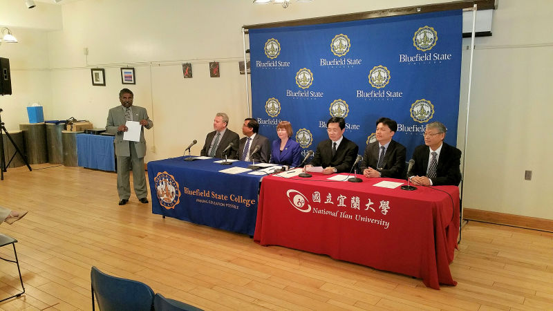 BSC and National Ilan University MOU Signing Ceremony