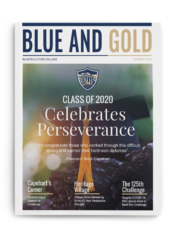 Blue and Gold Summer 2020 Cover
