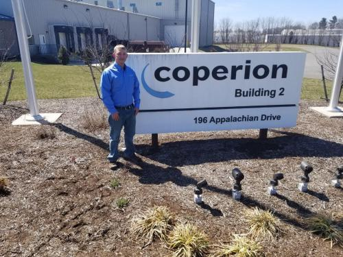 BSC Alumnus Mark Gillenwater at Coperion