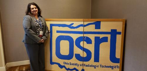 Dr. Angela Lambert delivered two presentations at the Ohio Society of Radiologic Technologists annual meeting in Worthington, OH. The meeting was held for technologists, educators and students in the field of Radiologic Technolog