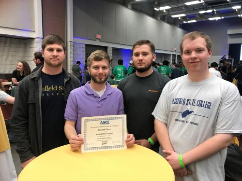 BSC Student Team Finishes 2nd in ASCE Regional Geotechnical Competition