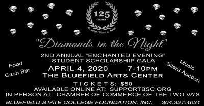"""Diamonds in the Night"" Enchanted Evening Set for April 4 at Bluefield Arts Center"