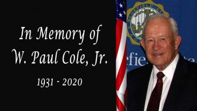 The Bluefield State College community is deeply saddened to receive news that W. Paul Cole, Jr. passed away on June 28, 2020.