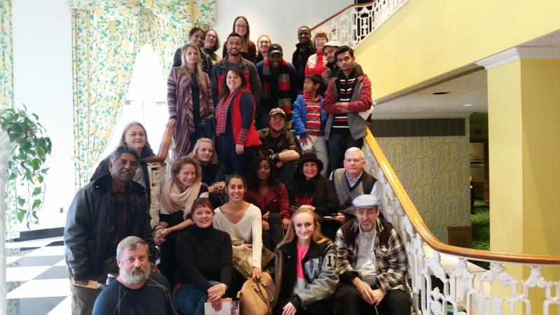 International Student Greenbrier Trip