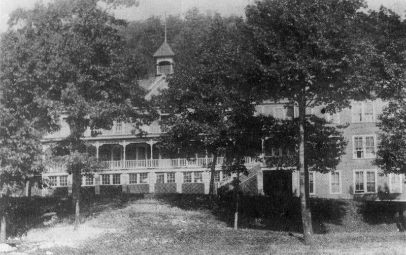 The women's dormitory, Lewis Hall, at Bluefield State College