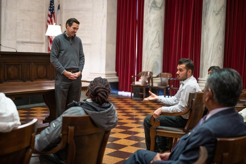 International Students in WV Supreme Court of Appeals